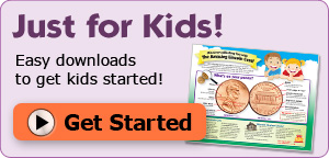 Just for Kids- Discover collecting fun with the Amazing Lincoln Cent! Easy downloads to get kids started!