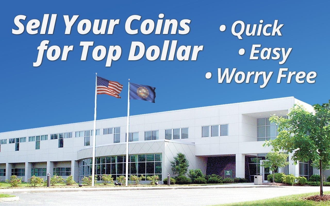 Selling your coins or a collection? We make it easy!
