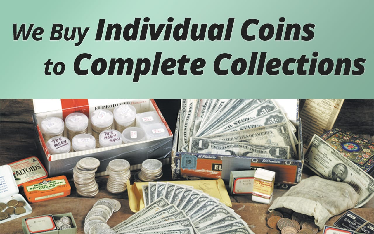 Best value for your collection... we can pay more!