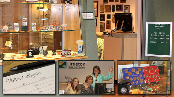 [photo: Littleton Coin Company's headquarters in Littleton, New Hampshire]
