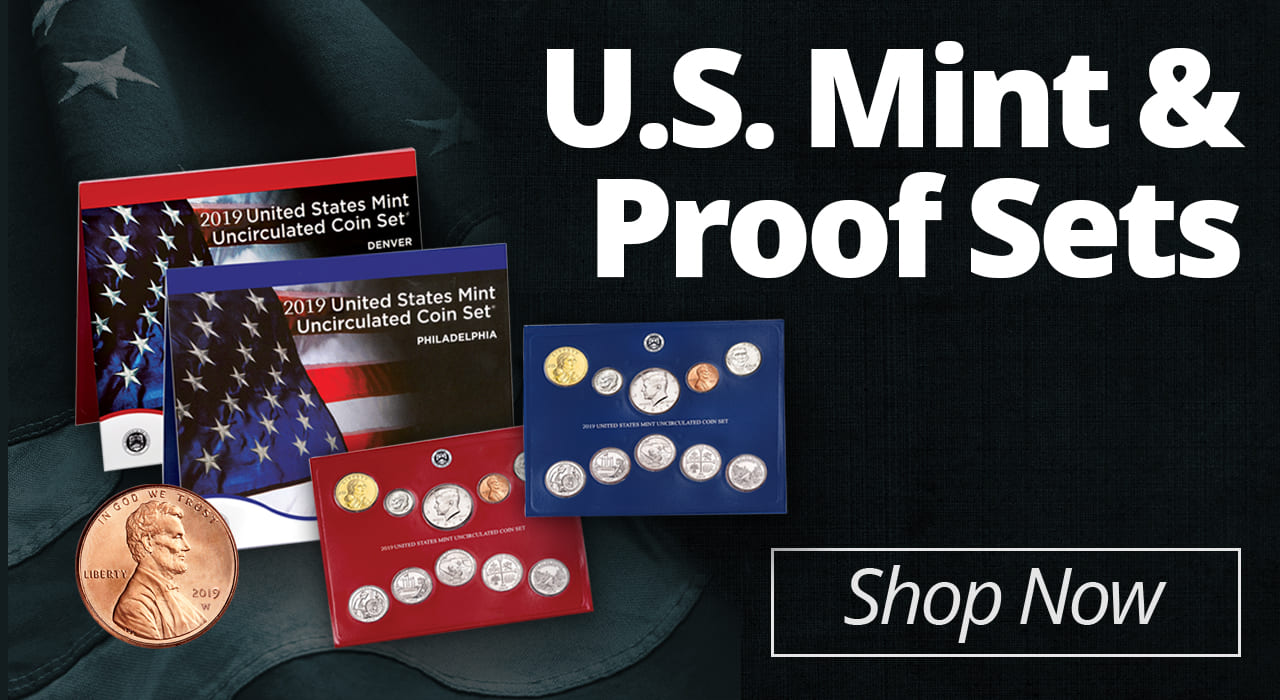 Mint and Proof Sets - Shop Now