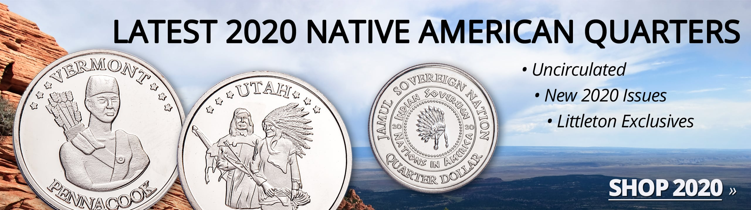 Latest Native American Quarters