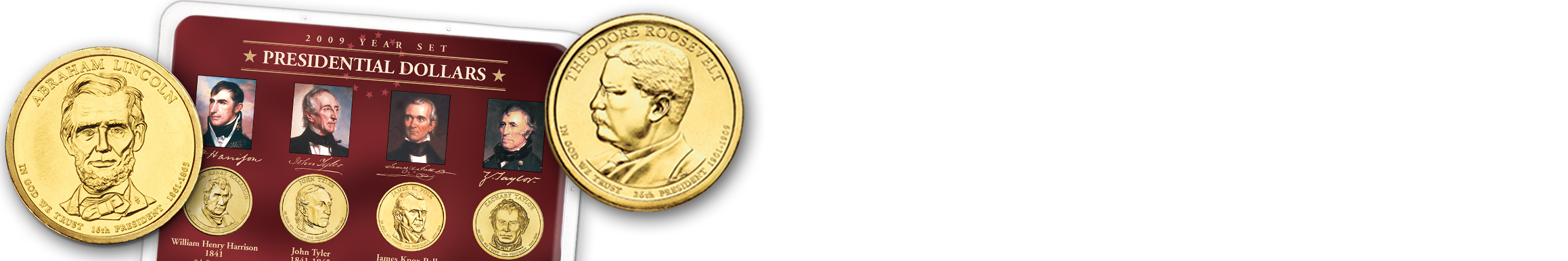 Presidential Dollars - Shop Now