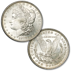 1878 Morgan Silver Dollar, 8 Tail Feathers