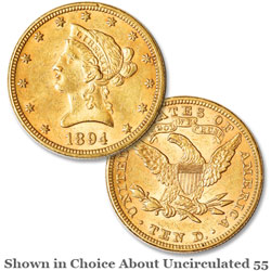1894 Liberty Head $10 Gold Eagle