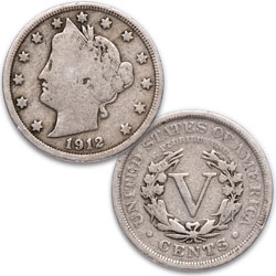 1912 Liberty Head Nickel