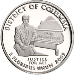 2009-S District of Columbia Territories Quarter