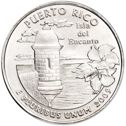 2009-D Puerto Rico Territories Quarter