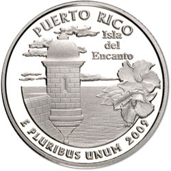 2009-S Puerto Rico Territories Quarter