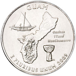 2009-D Guam Territories Quarter