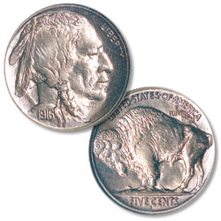 1916-S Buffalo Nickel