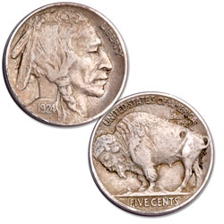 1924 Buffalo Nickel