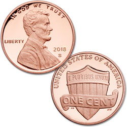 2018-S Lincoln Head Cent