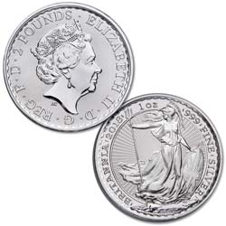2018 Great Britain 1 oz. Silver £2 Britannia