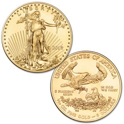 2018 $5 1/10 oz. Gold American Eagle