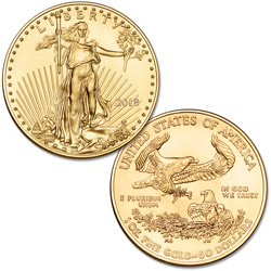 2018 $50 1 oz. Gold American Eagle