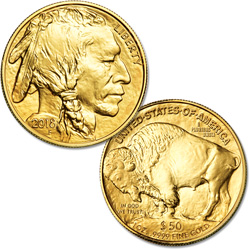2018 $50 1 oz. Gold American Buffalo