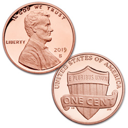 2019-S Lincoln Head Cent