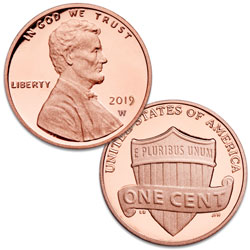 2019-W Lincoln Head Cent