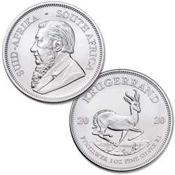 2020 South Africa 1 oz. Silver 1 Rand Krugerrand