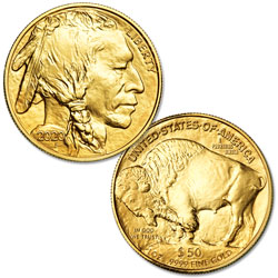 2020 $50 1 oz. Gold American Buffalo