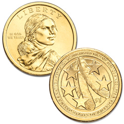 2021-P Native American Dollar