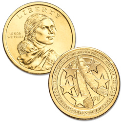 2021-D Native American Dollar