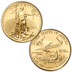 2021 $5 1/10 oz. Gold American Eagle