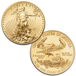 2021 $10 1/4 oz. Gold American Eagle