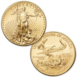 2021 $50 1 oz. Gold American Eagle