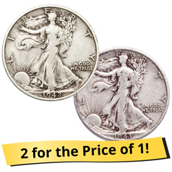 Liberty Walking Half Dollar Club