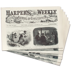 Harper's Weekly from the Civil War