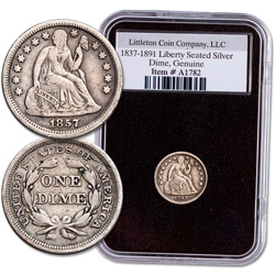 1837-1891 Liberty Seated Silver Dime