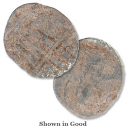 476-1453 Byzantine Copper Coin