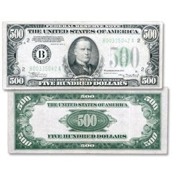 Series 1934-34A $500 Federal Reserve Note