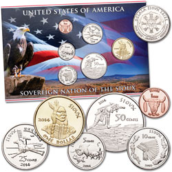 2014 Sioux Coin Set