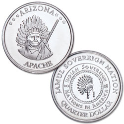 2018 Apache Native American Quarter