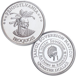 2018 Iroquois Native American Quarter