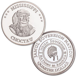 2018 Choctaw Native American Quarter