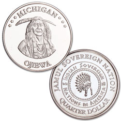 2018 Ojibwa Native American Quarter