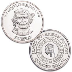 2020 Pueblo Native American Quarter