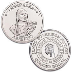 2020 Arapaho Native American Quarter
