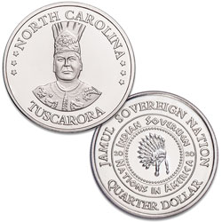 2020 Tuscarora Native American Quarter