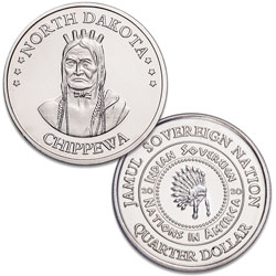 2020 Chippewa Native American Quarter