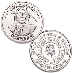 2020 Cheyenne Native American Quarter