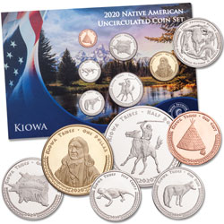 2020 Jamul Indian Coin Set - Kiowa