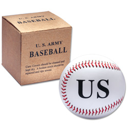 WWII U.S. Army Baseball Reproduction