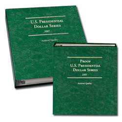 2007-2016 PD&S Presidential Dollar Albums