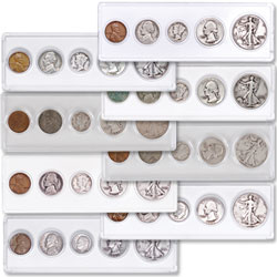 1940-1947 Eight Silver Year Sets