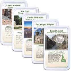 2019 National Park Quarters in Showpaks